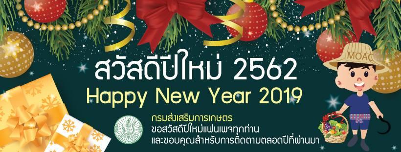 สวัสดีปีใหม่ 2562